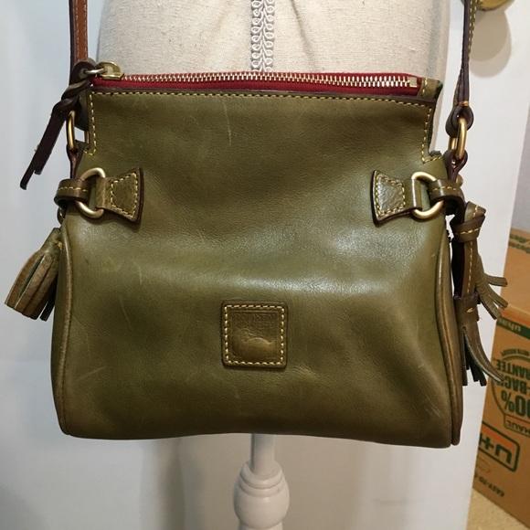 dafe4444b0 Dooney & Bourke Handbags - Dooney & Bourke Vintage Olive Shoulder Bag